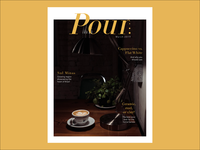 Pour Magazine Cover