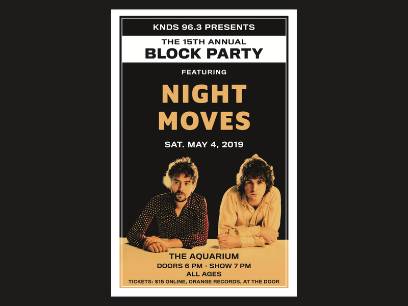 Block Party Poster photoshop poster design print design indesign