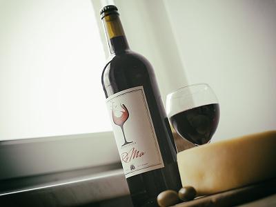 Wine Label wine label wines label labels wine illustration branding packaging vector wine packaging wine bottle
