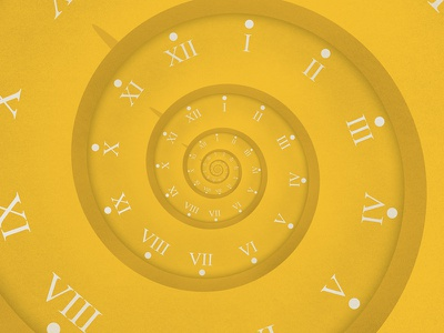 Time infinite zoom droste animation after effects texture photoshop illustration