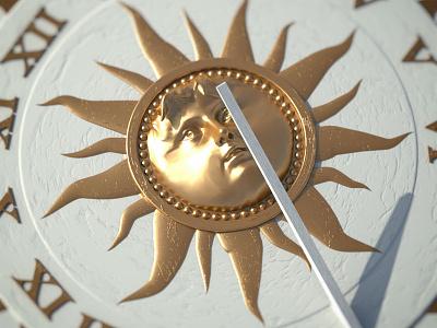 Sundial motion graphics motion design cinema 4d 3d c4d