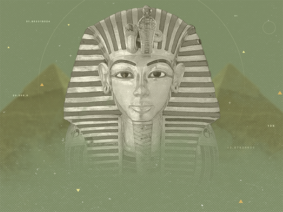 TV show ident / Styleframe / Egypt motion graphics motion design styleframe photoshop sfing egypt compositing collage