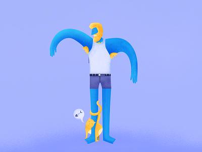 The Situation illustrator adobe illustrator characters flat illustration 2d 2d character illustration