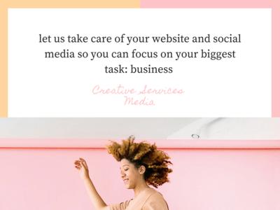 Social post for CSM