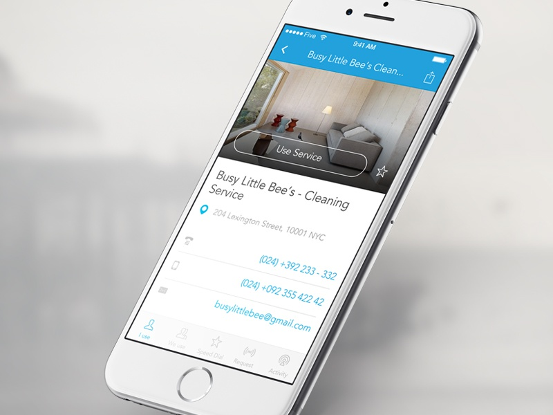 WhoWeUse mobile app five iphone ios mobile app uiux service