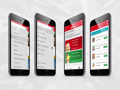 Mobile shopping app ios app iphone ui ux interface shopping five design mobile