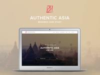Authentic Asia Travel website