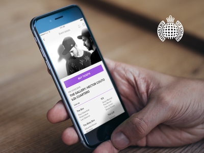 Ministry Of Sound details screen list interface player music mobile iphone five ios design app ux ui