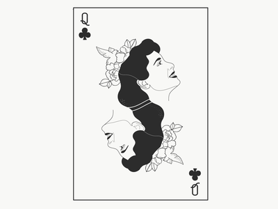 Snow White tattoo line drawing