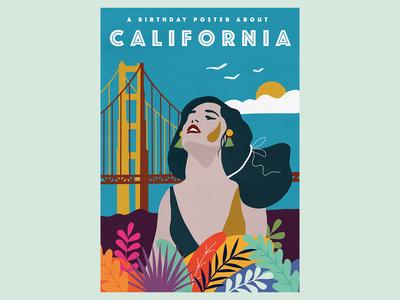 California illustration