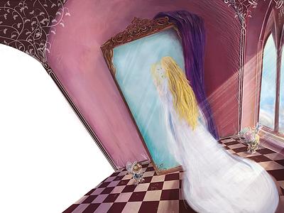 The Lady of Steamlot shallot illustration legend book