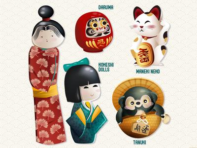 Character Design - Japan