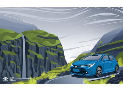 Toyot Corolla hatchback