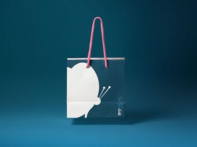 Biofacial Bag branding vector logo design