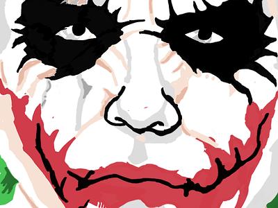 Joker - iPad Doodle joker ipad doodle batman