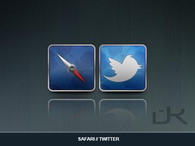Safari / Twitter Icons dilemma liam ios icons