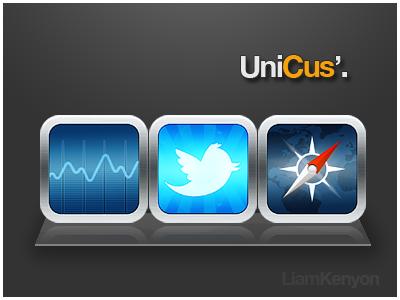 UniCus' - A few iOS App Icons unicus ios app icons