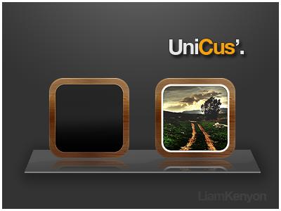 UniCus' - Photo iOS App Icons unicus ios app icons photo