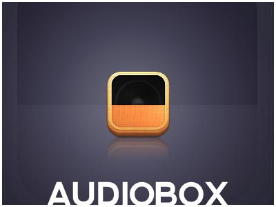 Audiobox - Client Icon *Final* audio ios icons iphone