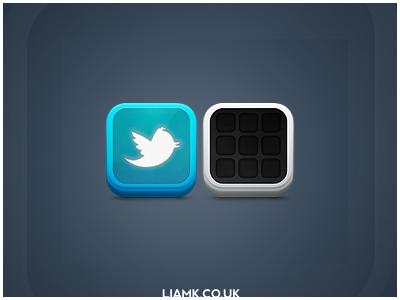 Twitter/Folder Icons twitter folder icons iphone