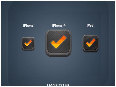 Clear iOS Icon clear ios icon