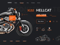 Motorcycle Product Page