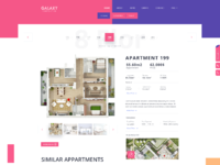 Appartment page design
