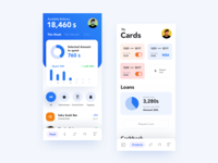 Banking App UI Concept credit card banking bank aplication app android ios typography layout interface ui design ux