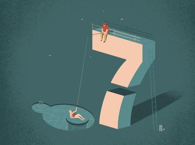 [On the Pier] For 7 (Il Corriere della Sera)