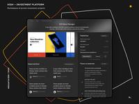 HIGH — investment platform dark mode