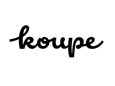 Logotype for Ice Cream lettering calligraphy logotype wordmark