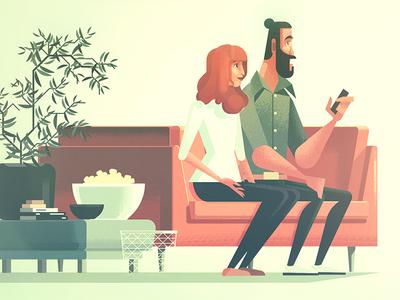 IKEA Stylesheet character vector ikea digital illustration james gilleard