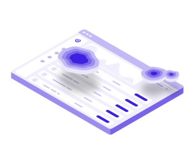 3D Attention Heatmap ux ui uxui ux design uxdesign ux user interface design user interface ui ux uiux ui design uidesign ui sketch minimal isometric illustration figma design dashboard adobexd