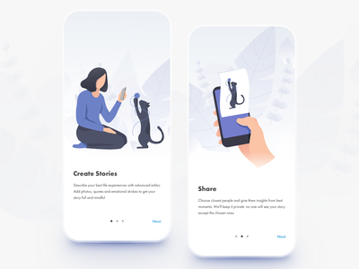 Nexi Private Messaging App product design onboarding chatting contacts social media social app article minimalism chatbot messenger app blog illustration chat privacy messaging