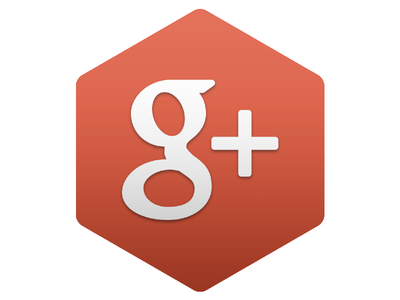 Google+ Hexagon Icon