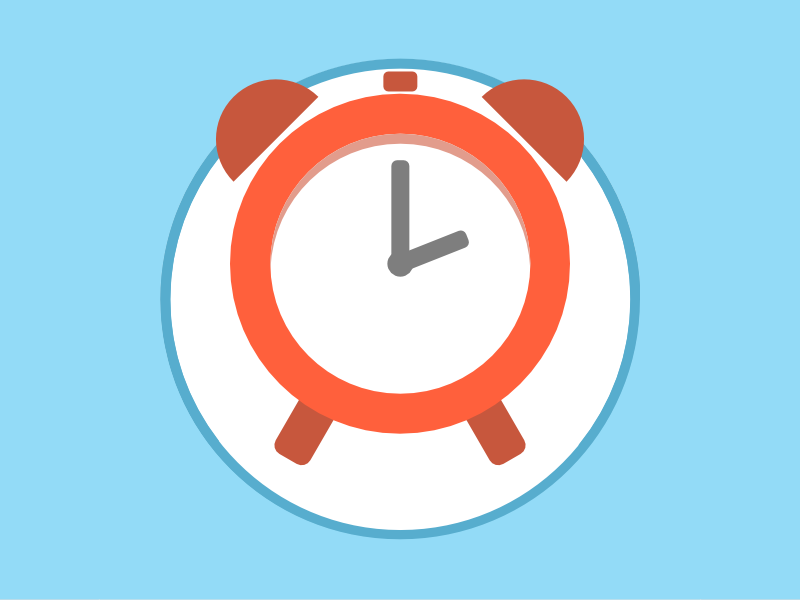 2015 Icons Day 9 - Clock Icon 2015 icons 2015icons delivery clock
