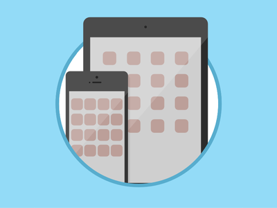2015 Icons Day 10 - Mobile Devices Icon 2015 icons 2015icons delivery devices mobile tablet