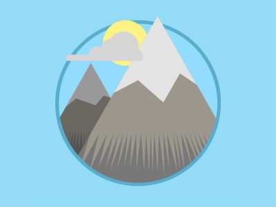 2015 Icons Day 15 - Mountain 2015 icons 2015icons mountain height
