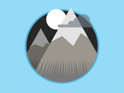 2015 Icons Day 15 - Mountain Alternative 2015 icons 2015icons mountain height