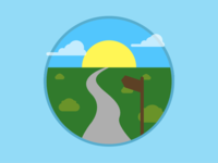 2015 Icons Day 16 - Path
