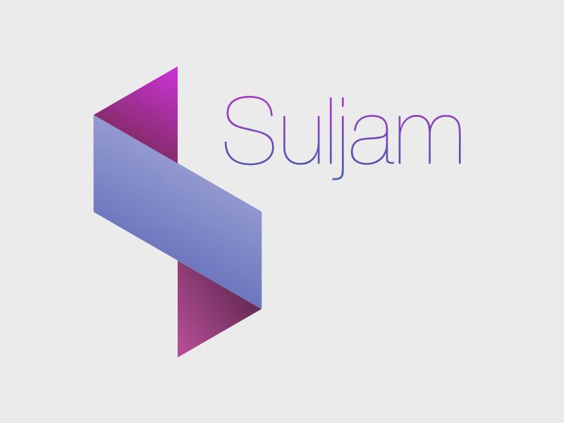 Suljam Logo svg logo modern minimal gradient