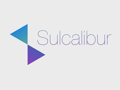 Sulcalibur Logo svg logo modern minimal gradient