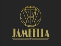 Jameella.com Art Deco Logo