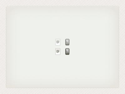 Teeny phone/email spritesheet sprite icon phone email pixel
