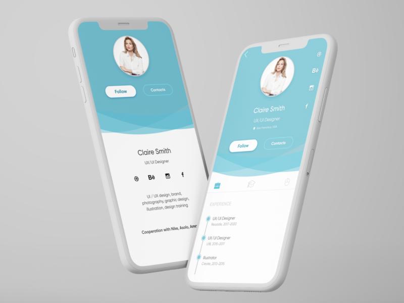 #DailyUI Challenge/ 006/ User profile figma profile user ui design web