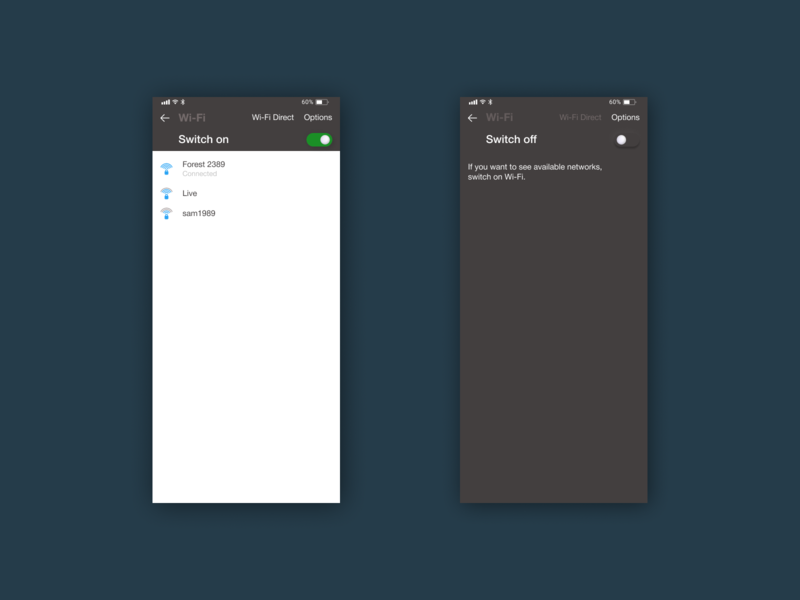 Daily UI/ #015 - On/Off Switch mobile white black design button switch ui web