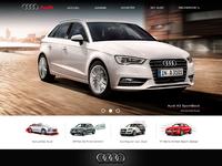 Audi Site Redesign