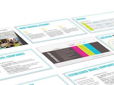 Sponsor Presentation typography design travel graphicdesign presentation powerpoint powerpoint design