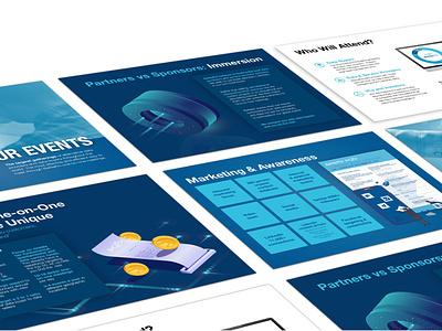 Sponsor Presentation illustration fintech presentation powerpoint design powerpoint digital graphicdesign design