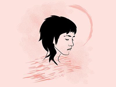 Portrait Illustration 01 graphicdesign digital design portrait vector illustration